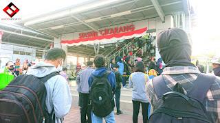 Kondisi Stasiun Cikarang