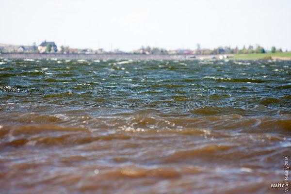 фото Хвилі на ставку