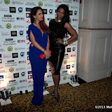 WWW.ENTSIMAGES.COM -   Preeya Kalidas and Karen Bryson    at The Manish Malhotra Gala Fundraiser in Aid of The Angeli Foundation at Grosvenor House, Park Lane, London February 23rd 2013                                                       Photo Mobis Photos/OIC 0203 174 1069
