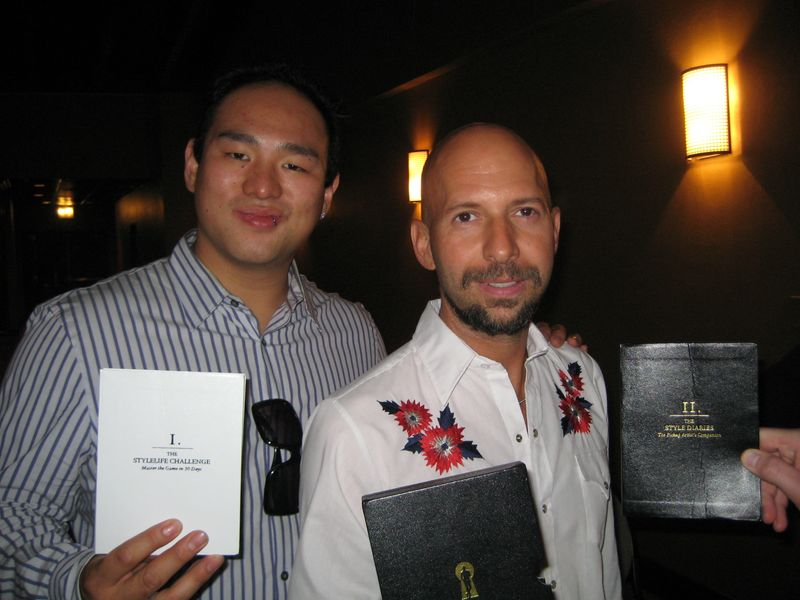 Johnny Wolf And Neil Strauss, Johnny Wolf