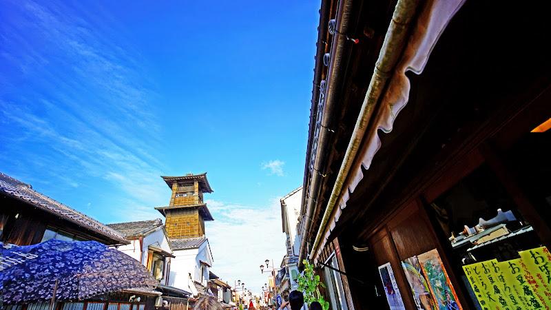川越 時の鐘 写真