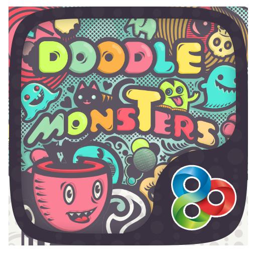 Doodle Monsters Go Launcher