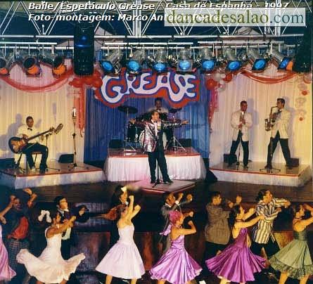 Baile Espetáculo Grease - 1997