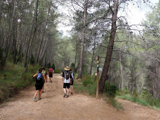 senderismo - Montanejos - Bojera - Bco de la Maimona