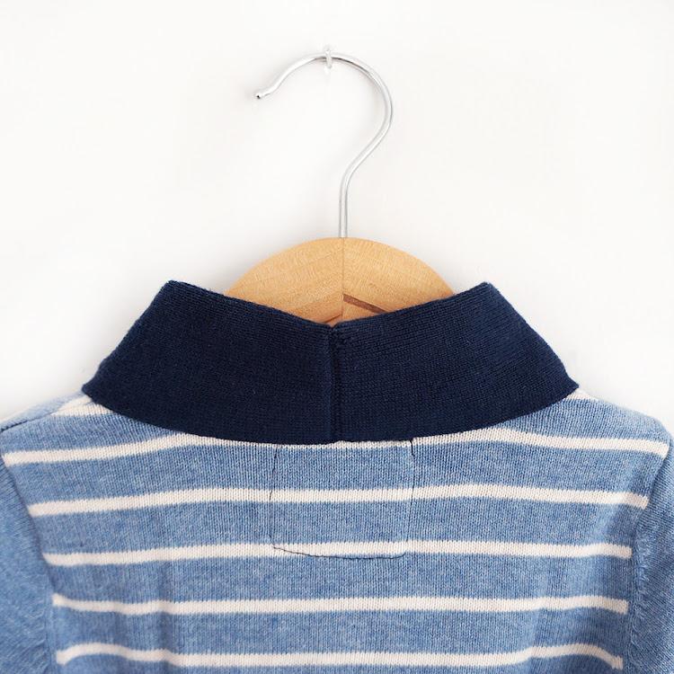 Button Up Blue Cardi
