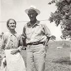 Lura Bohannan and her brother D.A. Gleaves