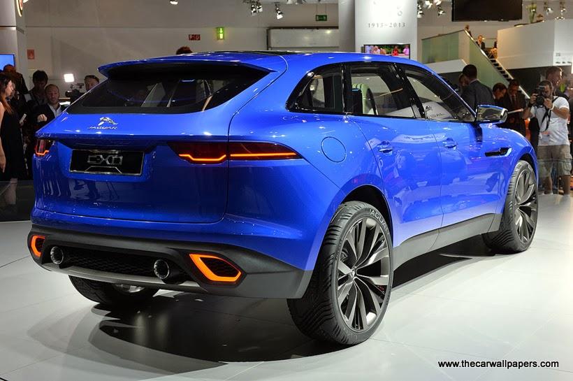 Jaguar CX-17 SUV Concept 2015
