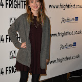 OIC - ENTSIMAGES.COM - Rosie Day at the Film4 Frightfest on Monday   of  Howl   UK Film Premiere at the Vue West End in London on the 31st  August 2015. Photo Mobis Photos/OIC 0203 174 1069