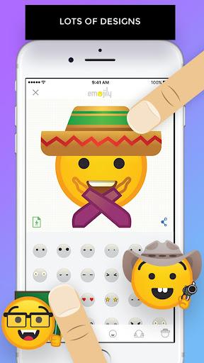 Emojily - Create Your Emoji 1.0 screenshots 2