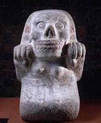 Mictlantecihuatl, Gods And Goddesses 6