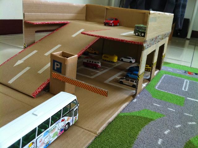 Diy diy kidsplay for Construire des box garage