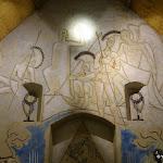 Chapelle Saint-Blaise-des-Simples : fresque la Résurection du Christ