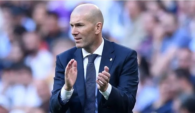 Sport: Real Madrid Boss Zidane Names The Best Defender In The World
