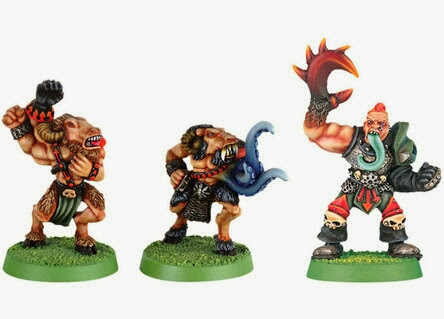 Mutantes del Caos Blood Bowl