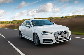 Audi A4 dripping with technology