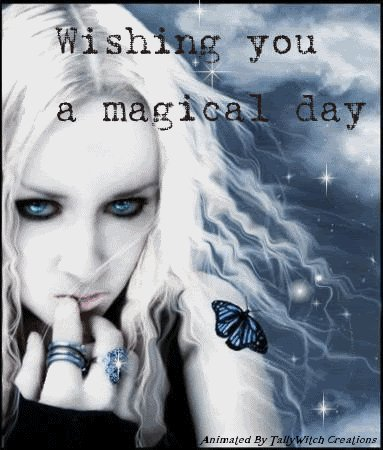 Magical Day, Magic And Spells