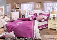 Gợi ý chọn chăn ga gối đệm cho giường cưới - thi cong noi that go