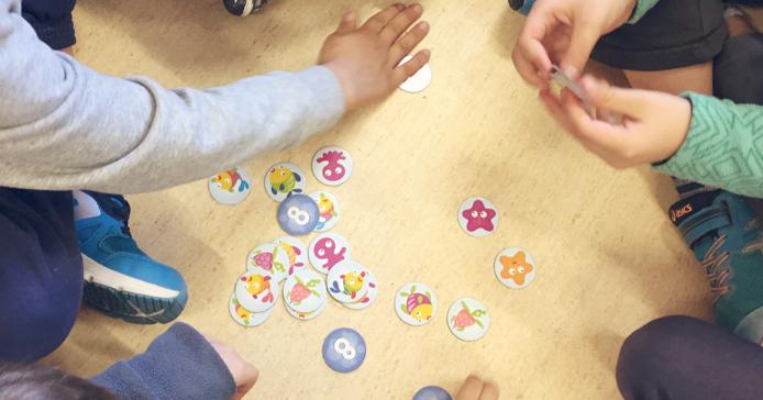 CUARTOMONSALUD Juegos de mesa del rincn de matemticas