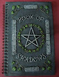 Book Of Shadows Steel Grey Pentagram