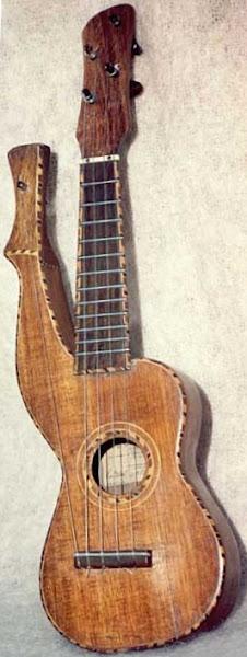 Knutsen Harp Ukulele
