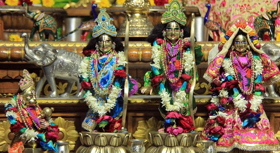 ISKCON Delhi Deity Darshan 08 Jan 2017 (8)