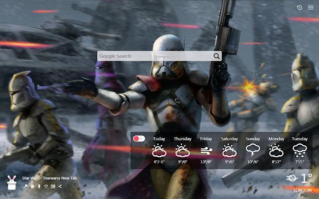 Star Wars - Starwarss New Tab, Wallpapers HD