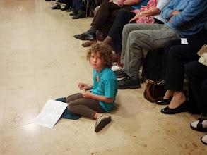 Photo: Die Jüngste Teilnehmerin