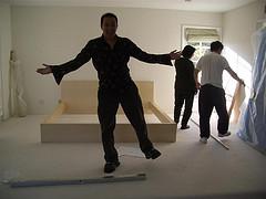 Papa And His Parents Setting Up His Bedroom, Papa
