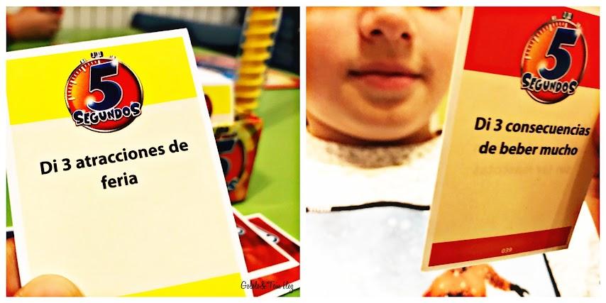Juegos de mesa para niños de rapidez mental 5 segundos