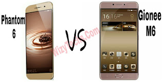 Tecno Phantom 6 vs Gionee M6