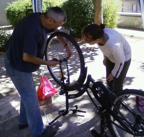 Opération Diagnostique et marquage Bicycode