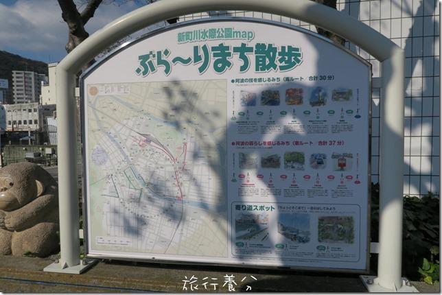 四國德島 葫蘆島周遊船 新町川水際公園 (4)