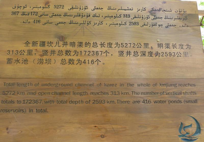 XINJIANG.  Turpan. Ancient city of Jiaohe, Flaming Mountains, Karez, Bezelik Thousand Budda caves - P1270846.JPG
