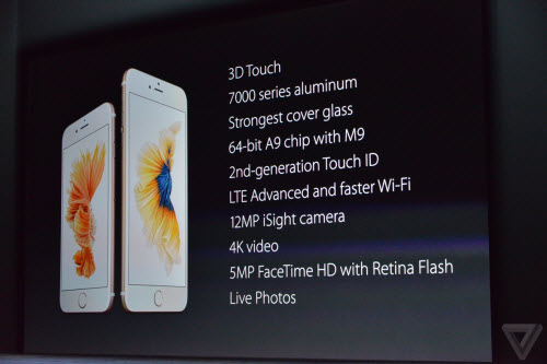 iPhone 6S va 6S Plus trinh lang Camera xin hon gia khong doi  2