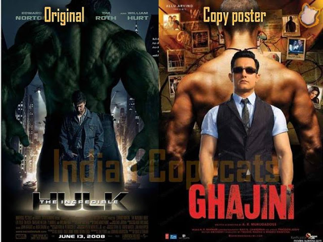Bollywood Copied posters from Hollywood
