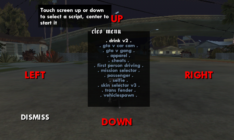gta san andreas cheats menu download pc
