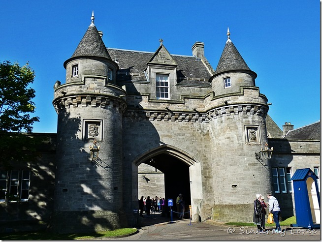 Palace of Holyrood House 3