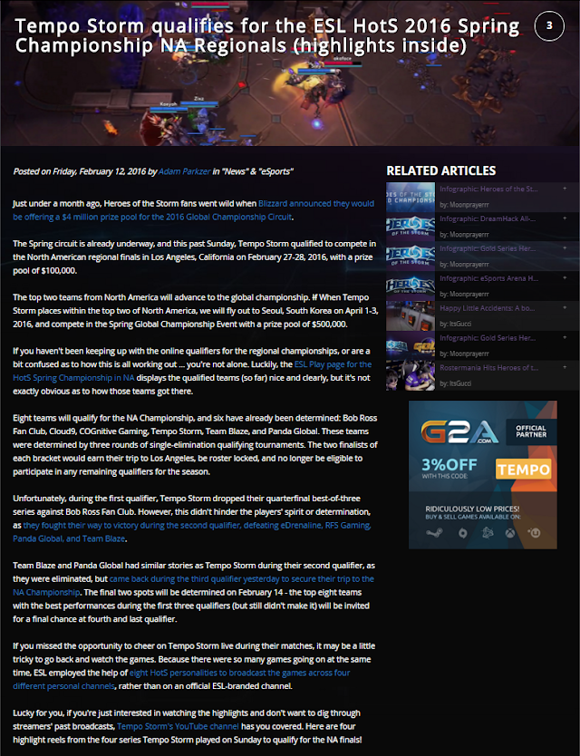 Heroes of the Storm | Parkzer com | Page 4
