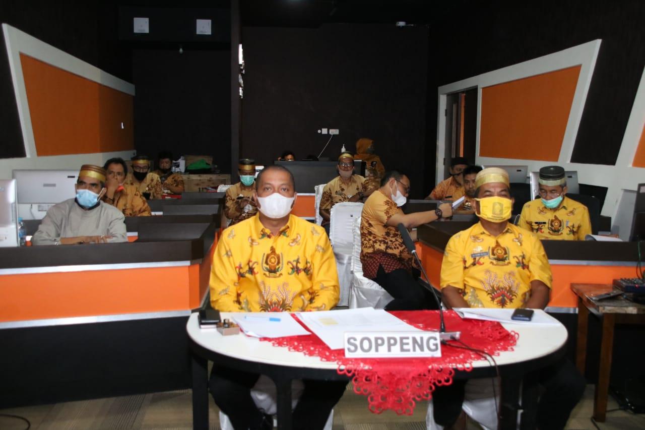Kabupaten Soppeng Menduduki Peringkat Pertama Progres MCP 2020 dari 24 Kab/Kota se-SulSel