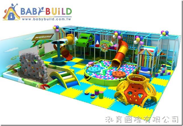 BabyBuild 室內綜合兒童遊具