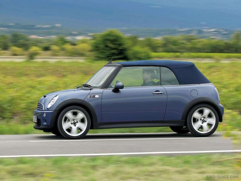 2006 mini cooper convertible specifications pictures prices. Black Bedroom Furniture Sets. Home Design Ideas