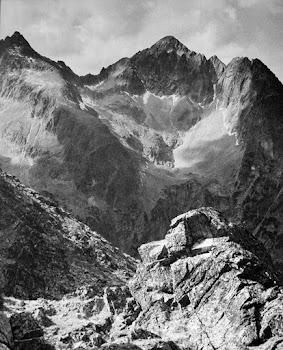 Hoge Tatra vanaf een lager standpunt