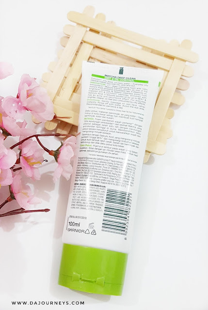 [Review] Garnier Pure Active Matcha Deep Clean Facial Foam