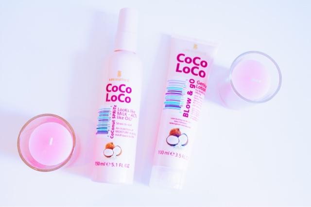 Lee Stafford Coco Loco Coconut Spritz and Blow & Go Genius Lotion