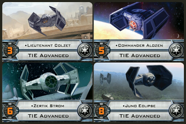 Imperial Raider Tie advanced pilots