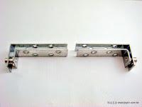 裝潢五金品名:G7451-麥當勞丁雙材質:白鐵功能:裝在門上兩側使門片前後搖晃玖品五金