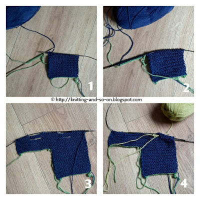 Free Knitting Pattern - Garudasa Yoga Socks
