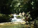In den Wasserbecken von Semuc Champey