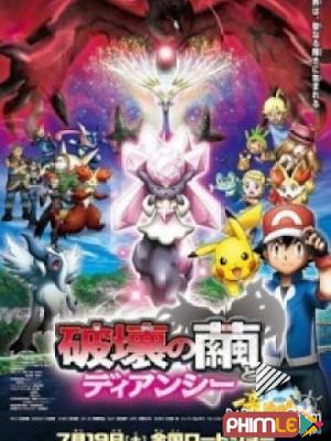 Pokemon Movie 17: Sự Hủy Diệt Từ Chiếc Kén Và Diancie