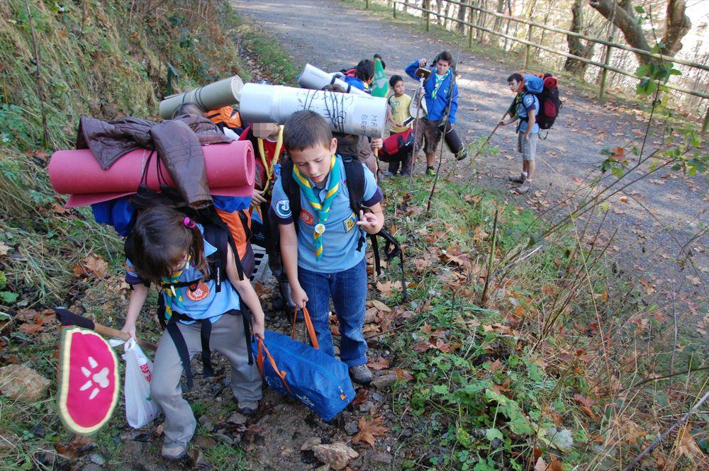 Sortida Castors i Llops a la Roca del Secut 2010 - DSC_0693.JPG